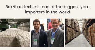Brazilian textile is one of the biggest yarn importers in the world