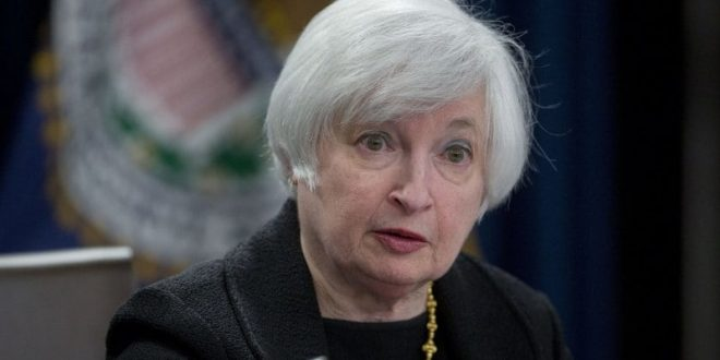 Photo: The former Federal Reserve chairman, Janet Yellen