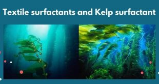 Textile surfactants and Kelp surfactant