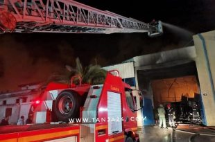 Fire-Ravages-Textile-Factory-in-Tangier-Northern-Morocco-1