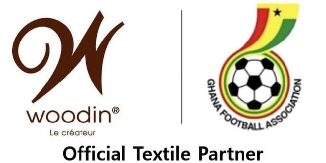 Woodin Ghana Limited as its Official Textile partnership