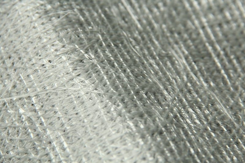 Biaxial non-crimp fabric made of glass rovings