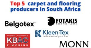 Top 5 carpet and flooring producers in South Africa